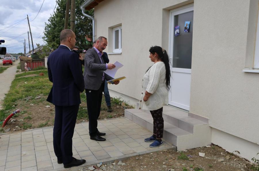 Darda: Uz pomoć EU izgrađeno 58 novih kuća u romskom naselju, uskoro završetak još 29 kuća
