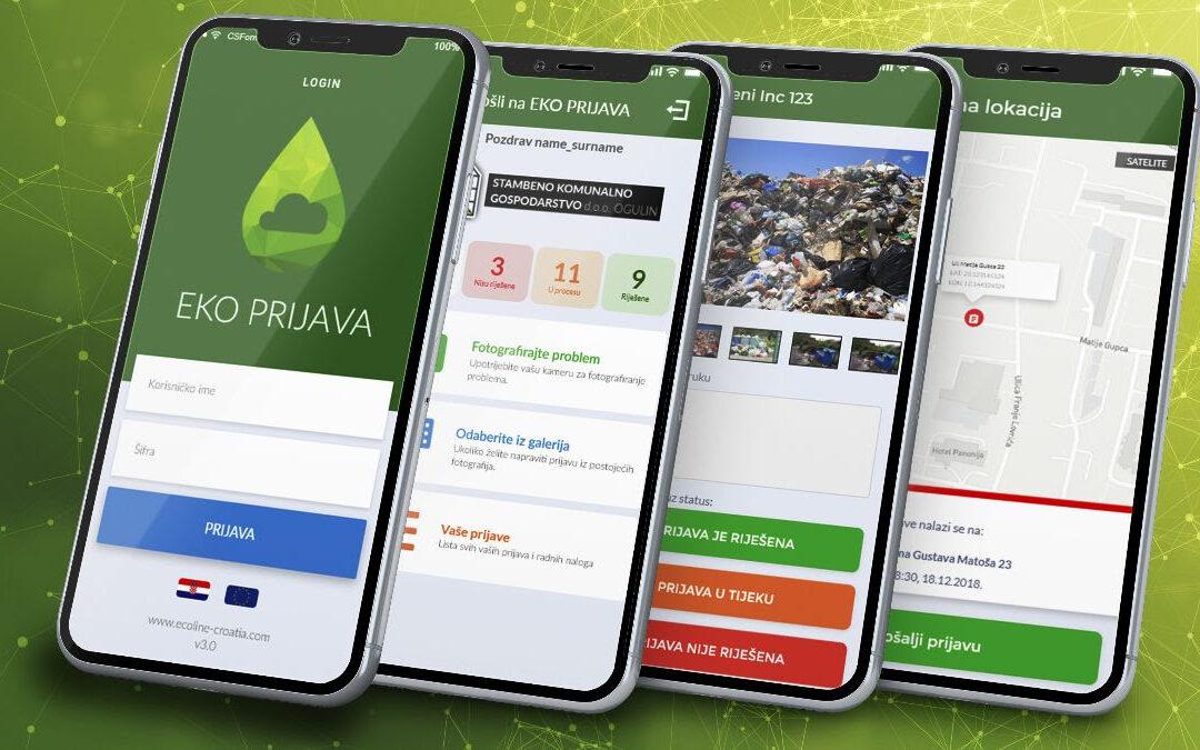 Josipdol: Aktivirana aplikacija EKO Prijava za brže rješavanje komunalnih, građevinskih i cestovnih problema