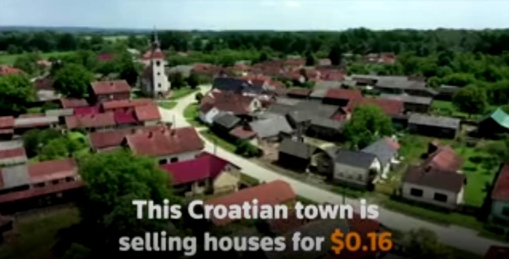 Reuters piše o Općini Legrad: 'Prodaju kuće za kunu'
