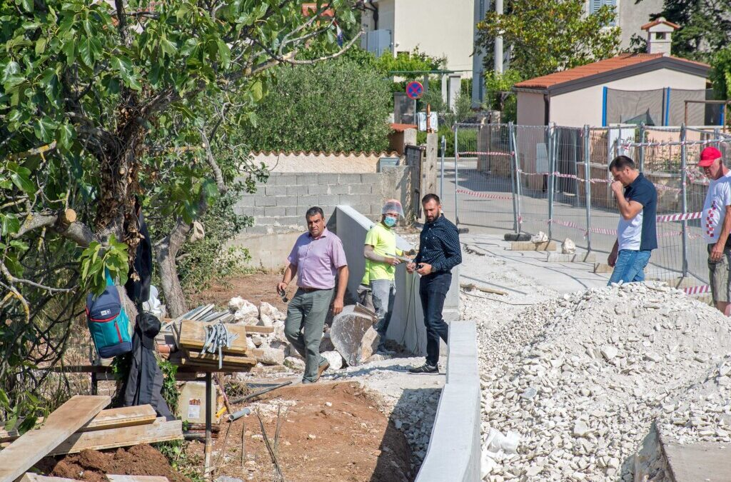 Medulin: Novi načelnik obišao otvorena gradilišta